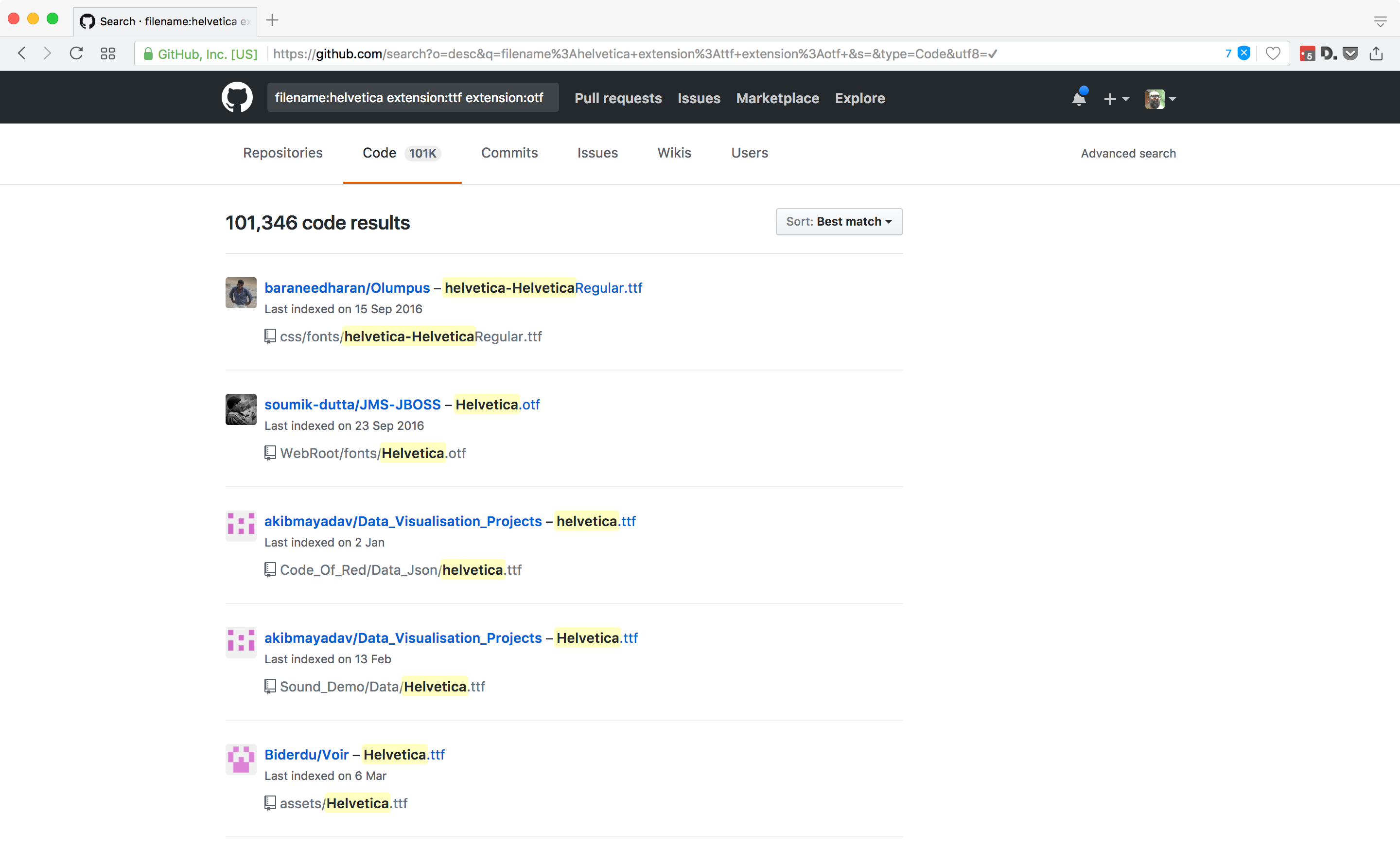 How Github became the web's largest font piracy site (and how to fix